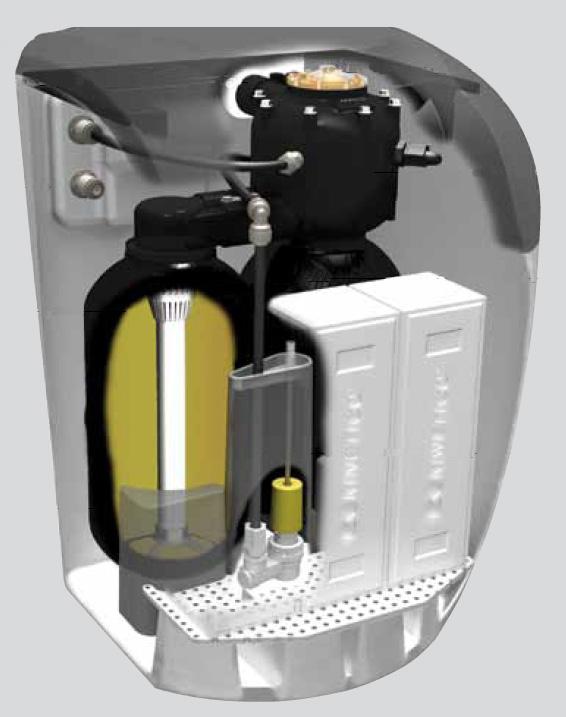 Descalcificador Doméstico Kinetico 206