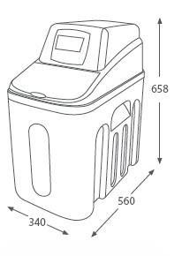 descalcificador de agua tucan