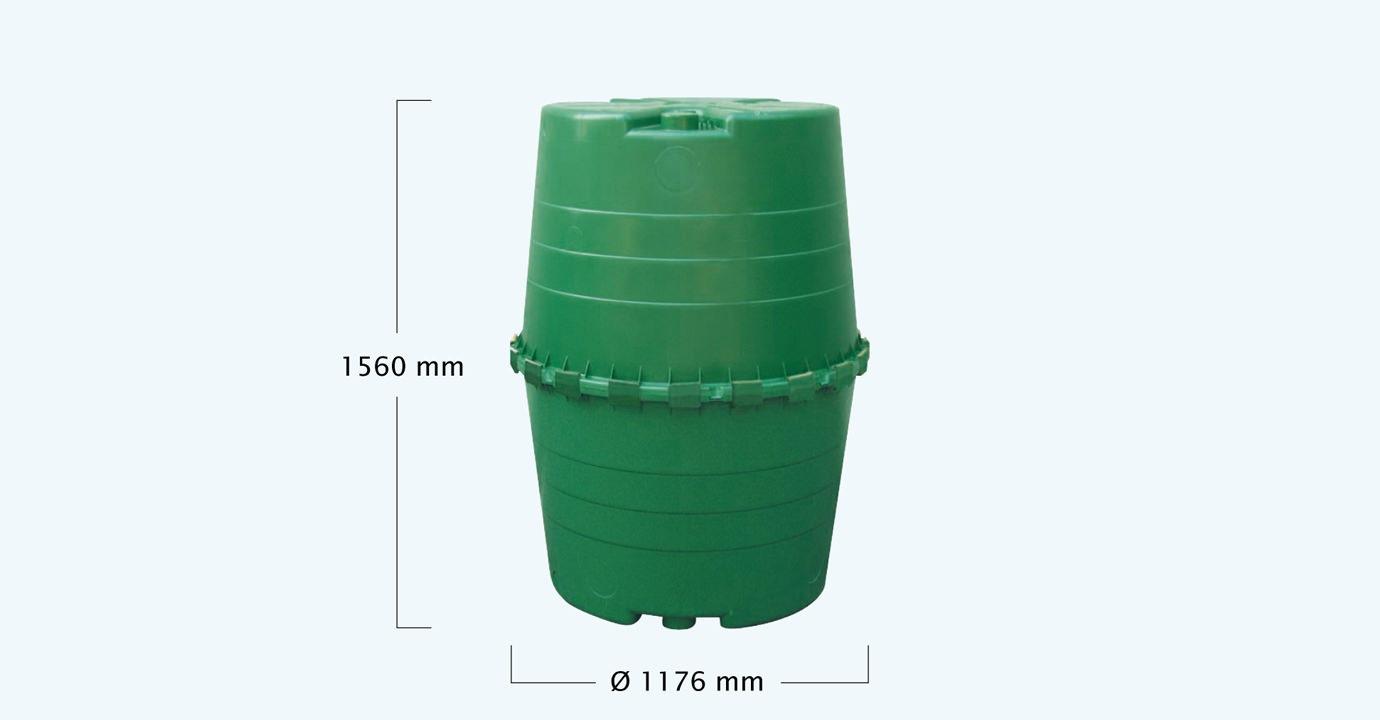 deposito agua lluvia top tank medidas