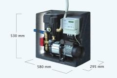 Equipo extración de agua