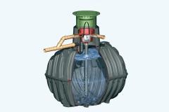 Filtro interno universal para depósito de agua
