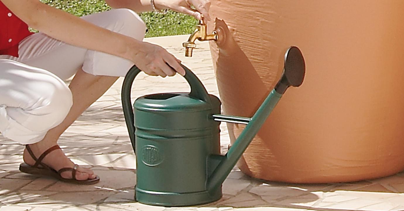 Dep sito de agua nfora pared h2agua equipos para - Deposito de agua de lluvia ...