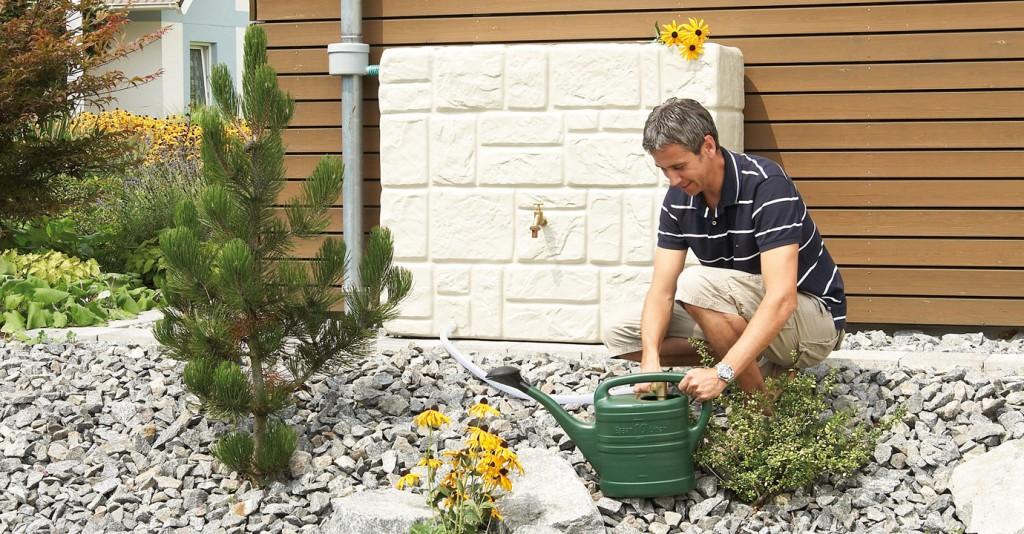 depósito agua muro