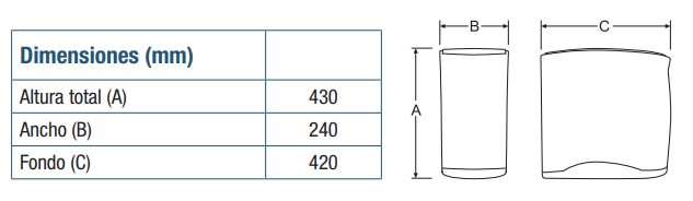 osmosis-genius-compact-dimensiones