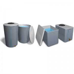 Depósitos cónicos y rectangulares
