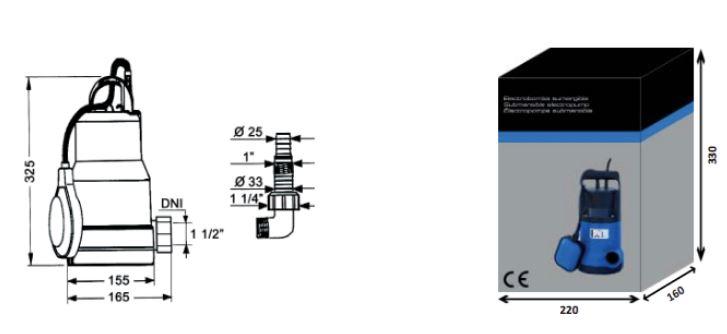 bomba-agua-achique-sum-dimensiones