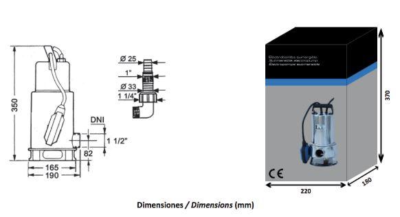 bomba-achique-sx100-dimensiones