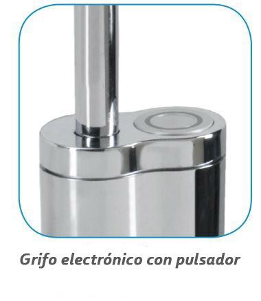 grifo electronico pulsador