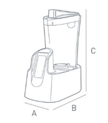 hidrogenador de agua Haktiva medidas