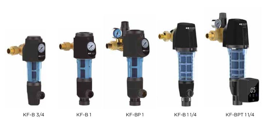Filtros autolimpiantes Kinetico modelos