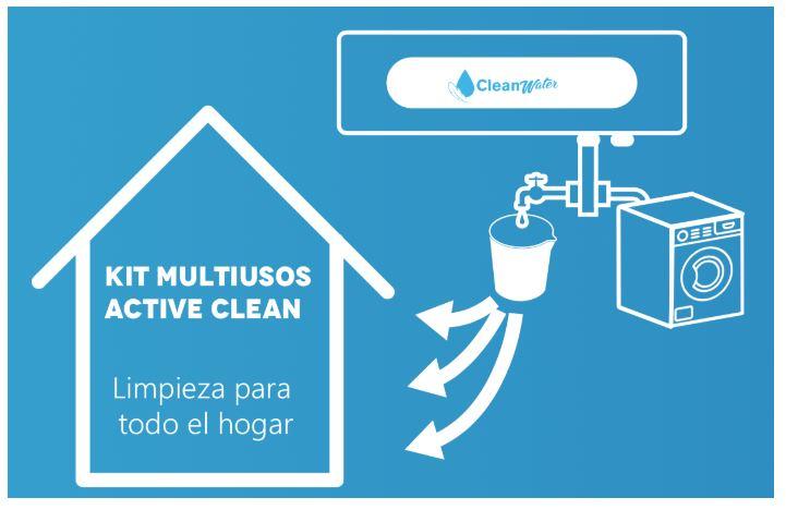 ozonizador agua cleanwater limpieza hogar