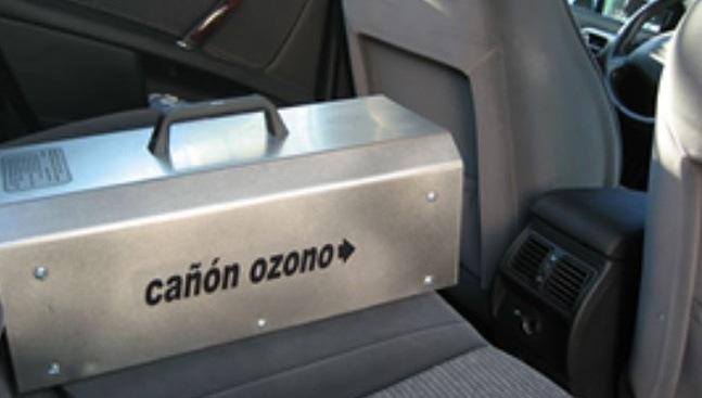 ozonizador desinfectante coches furgonetas autobuses ambulancias trenes