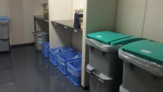 ozonizador desinfectante salas de basuras