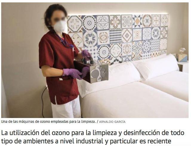 ozono desinfectar coronavirus virus bacterias