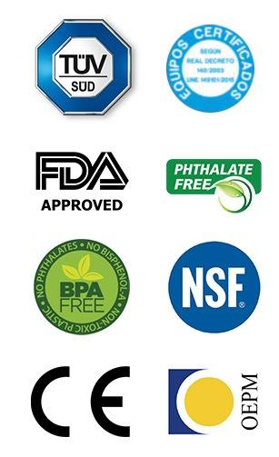 osmosis inversa sellos calidad